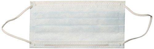 Crosstex GPLUSBL Latex-Free Isofluid Plus Earloop Mask, Blue (Pack of 50)