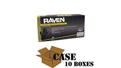 Raven - Nitrile Powder Free Gloves - Case Size X-Large
