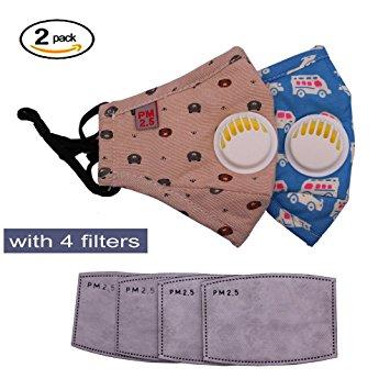 Antibacterial Protective Guaze Masks Kids Teens Masks Cotton Mouth Mask Children's PM2.5...
