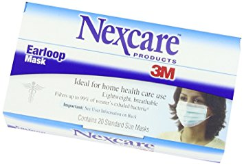 Nexcare Ear Loop Filter Mask - 20 count
