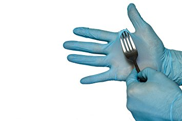 NITRILE STRONG GLOVES Disposable. Powder and Latex FREE. Class 1A nitrile butadiene...
